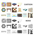 board game cartoon icons in set collection for vector image vector image
