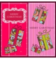 Christmas cards with gifts
