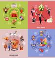 circus cartoon concept vector image vector image