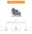 delivery time shipping transport truck business vector image vector image