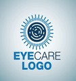 EYE CARE LOGO 7 vector image vector image