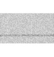 gradient binary code digits background vector image vector image