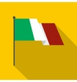 Italy flag icon flat style vector image vector image