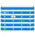 navigation banners vector image