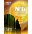 Night Party - Flyer or Cover Design Background vector image vector image
