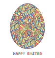 abstract easter egg vector image vector image