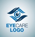 EYE CARE LOGO 8 vector image vector image