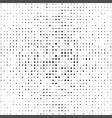 halftone black dot background vector image