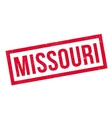 Missouri rubber stamp vector image vector image