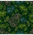 seamless grunge pattern vector image vector image