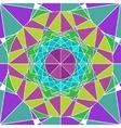 Geometry Mandala background vector image
