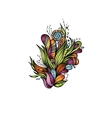 Abstract decorative nature ornament vector image vector image