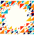 abstract geometric background - multicolor vector image vector image