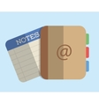 Agend design Notes icon graphic vector image vector image