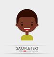 cute kids design vector image vector image