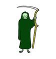 death comic cartoon vector image vector image