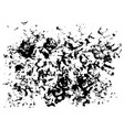 grunge ink blot and spot texture on paper vector image