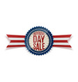 independence day sale patriotic badge vector image vector image