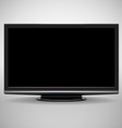Modern full-HD TV vector image