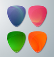 Set of Guitar Picks vector image vector image
