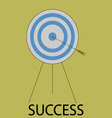 Succes icon flat design vector image