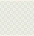 vintage geometric texture abstract seamless vector image vector image