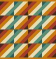 70s retro lines design seamless pattern vector image