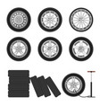 Auto wheels set