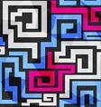 bright spirals seamless pattern vector image