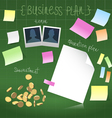 Business plan in development vector image