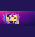 fashion blog concept banner header vector image vector image