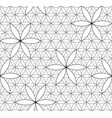 flower of life sacred geometry seamless pattern vector image