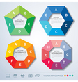 infographics set templates vector image vector image