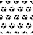 seamless soccer ball vector image vector image
