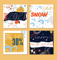 set square art templates suitable for social vector image vector image