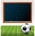 Soccer Chalkboard vector image