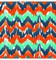 Vibrant chevron pattern Spring zig zag pattern vector image