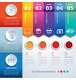 infographics set templates vector image