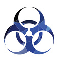 bio hazard icon Abstract Triangle vector image