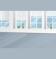 building interior office design banner vector image