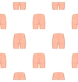 Buttocks icon in cartoon style isolated on white vector image vector image