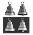 christmas bells vector image vector image