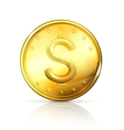 Gold coin vector | Price: 1 Credit (USD $1)