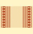 hawaiian background in polynesian style vector image
