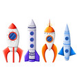 space rocket start up and launch symbol new vector image vector image