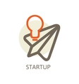 start up Trendy for new businesses vector image vector image