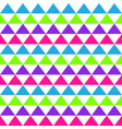 abstract seamless geometric pattern with colored vector image