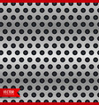 circle metal chrome texture background vector image vector image