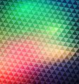 Colorful Geometric Banner vector image