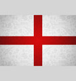 england flag background for russian soccer event vector image vector image